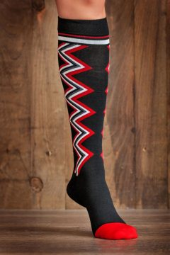 Lightning Chevron 15-22 mmHg Compression Socks