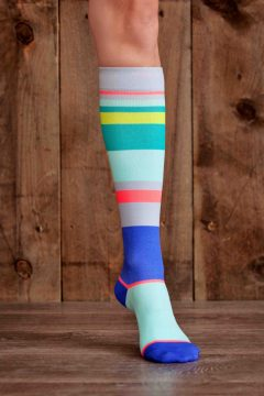 Urbane Strip 15-22 mmHg Compression Socks