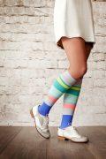 Urbane Strip 15-22 mmHg Compression Socks