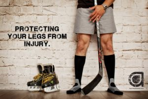 Protecting Your Legs from Injury Poster